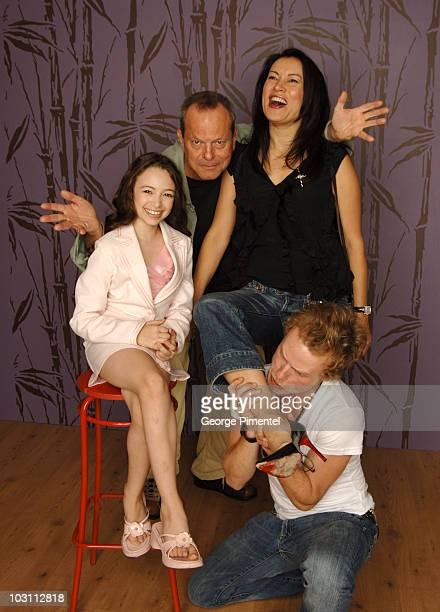 Jodelle Ferland Terry Gilliam Jennifer Tilly and Brandon Fletcher