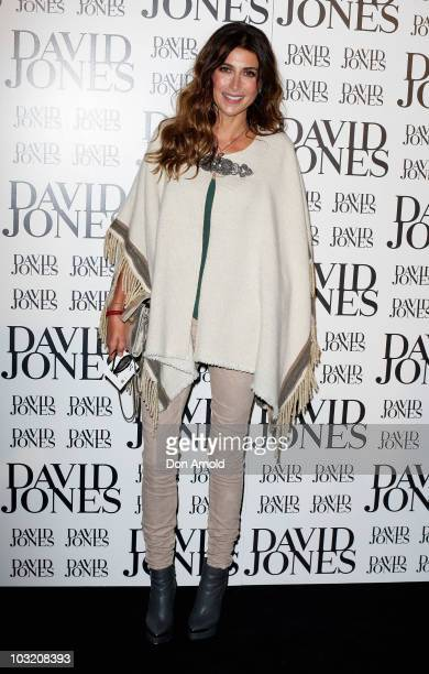 Jodhi Meares arrives at the David Jones Spring/Summer 2010 Season Launch at David Jones Elizabeth St Store on August 3 2010 in Sydney Australia
