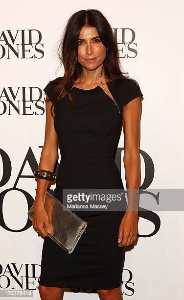 Jodhi Meares arrives at the David Jones Spring/Summer 2011 season launch at the Royal Hall of Industries Moore Park on August 3 2011 in Sydney...