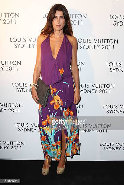 Jodhi Meares arrives at the Louis Vuitton Maison reception on December 2 2011 in Sydney Australia