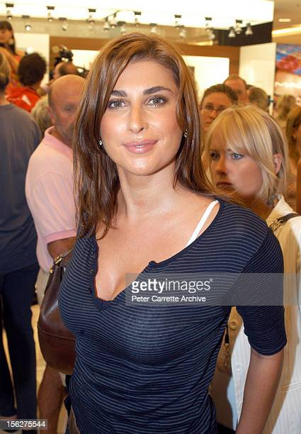 Jodhi Meares attends the opening of the new Myer department store at Bondi Junction on April 21 2004 in Sydney Australia