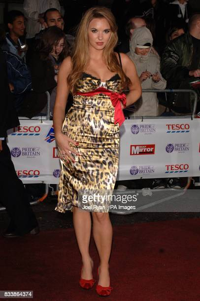 Jodi Albert arrives for the Pride of Britain Awards 2007 The London Studios Upper Ground London SE1