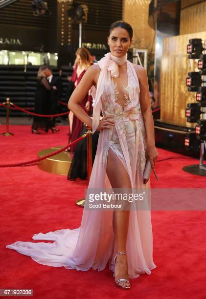 Jodi Anasta Gordon arrives at the 59th Annual Logie Awards at Crown Palladium on April 23 2017 in Melbourne Australia