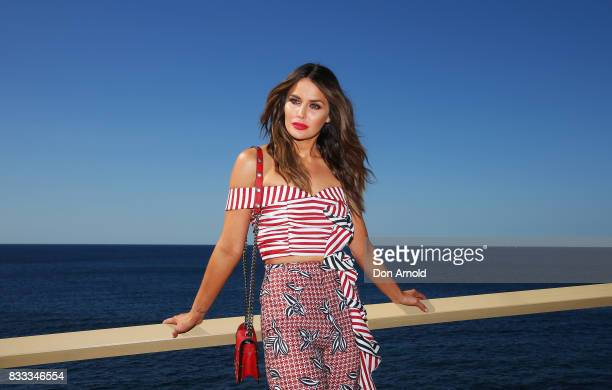 Jodi Anasta poses at the Myer Spring 2017 Fashion Launch on August 17 2017 in Sydney Australia