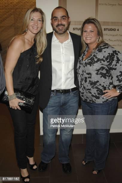 Jodi Davidovich Daniel Davidovich and Lynda Fisher attend Launch and Celebration of Farmhearts at Pure Yoga on September 23 2010 in New York City