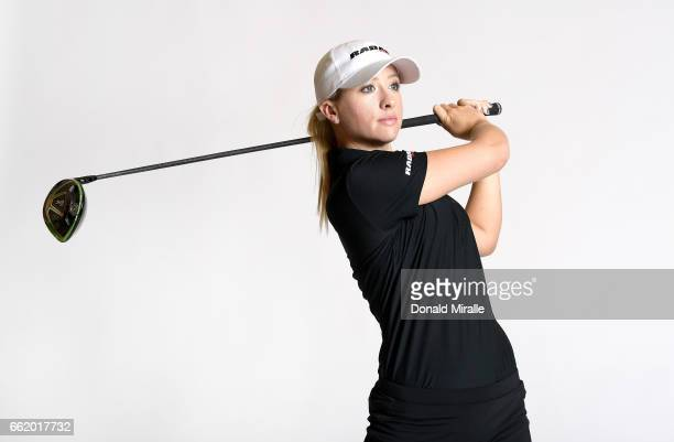 Jodi Ewart Shadoff of England poses for a portrait at the Park Hyatt Aviara Resort on March 22 2017 in Carlsbad California