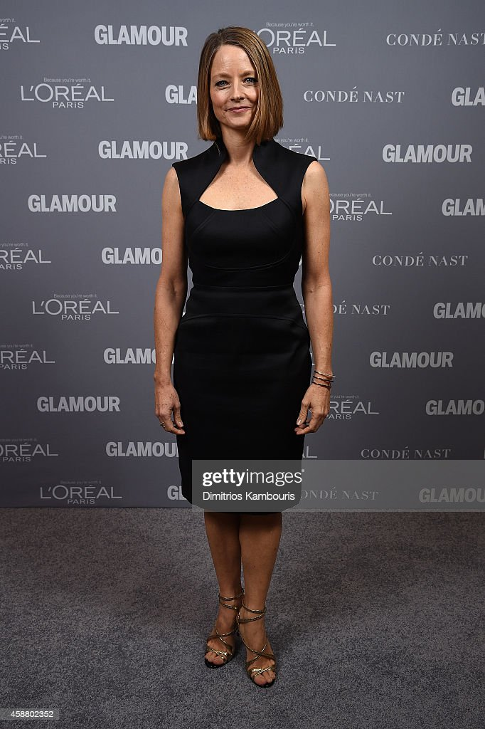 Jodi Foster poses at the Glamour 2014 Women Of The Year Awards at Carnegie Hall on November 10, 2014 in New York City.