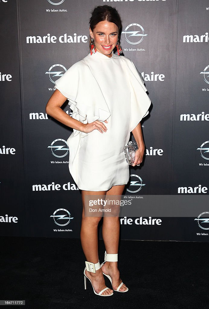 Jodi Gordon arrives at the 2013 Prix de Marie Claire Awards at the Star on March 27, 2013 in Sydney, Australia.