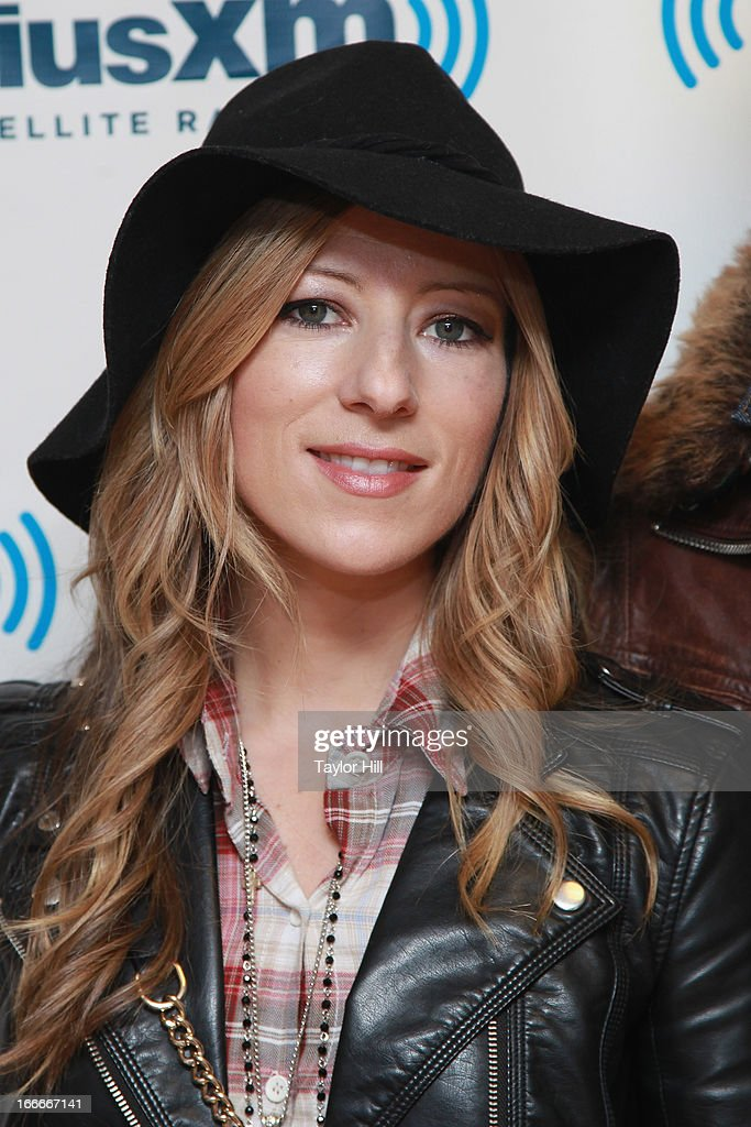 Jodi KIng of Love & The Outcome visits the SiriusXM Studios on April 15, 2013 in New York City.