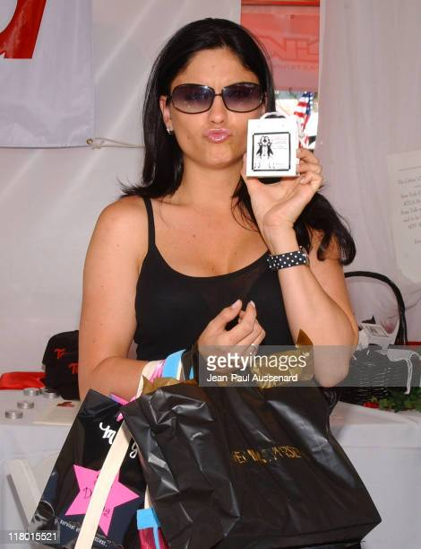 Jodi Lyn O'Keefe at Tamed during Silver Spoon Hollywood Buffet Day One at Private Estate in Hollywood California United States Photo by JeanPaul...