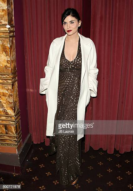 Jodi Lyn O'Keefe attends Live Talks LA presents an evening with Dita Von Teese and friends on December 9 2015 in Westwood California