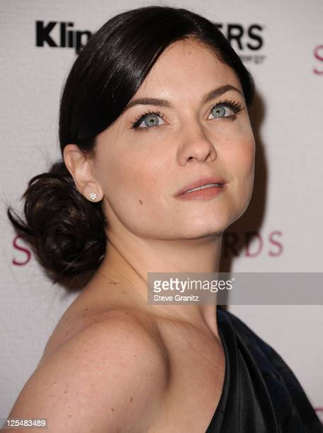 Jodi Lyn O'Keefe attends the 2010 Hollywood Style Awards at The Billy Wilder Theater at the Hammer Museum on December 12 2010 in Los Angeles...