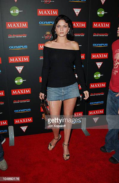 Jodi Lyn O'Keefe during Maxim Magazine's Annual Hot 100 Party at 1400 Ivar in Hollywood CA United States