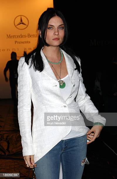 Jodi Lyn O'Keefe during MercedesBenz Fall 2005 LA Fashion Week at Smashbox Studios Jenni Kayne Front Row at Smashbox Studios in Culver City...