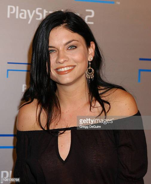 Jodi Lyn O'Keefe during Playstation 2 'Playa Del Playstation' Party at Viceroy Hotel in Santa Monica California United States
