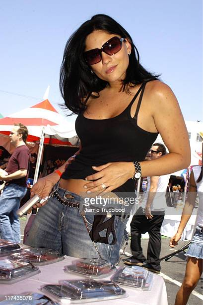 Jodi Lyn O'Keefe during Silver Spoon Hollywood Buffet Day One at Private Estate in Hollywood California United States Photo by Jaimie...