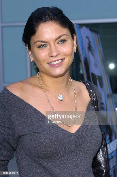 Jodi Lyn O'Keefe during 'Stander' Los Angeles Premiere Red Carpet at Arclight in Los Angeles California United States