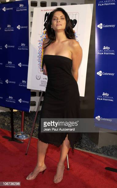 Jodi Lyn O'Keefe during World Premiere of 'Mayor Of The Sunset Strip' at the 2003 IFP Los Angeles Film Festival Arrivals at Arclight Cinerama Dome in...