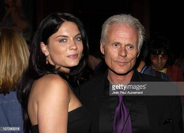 Jodi Lyn O'Keefe Michael Des Barres during World Premiere of 'Mayor Of The Sunset Strip' at the 2003 IFP Los Angeles Film Festival After Party at...