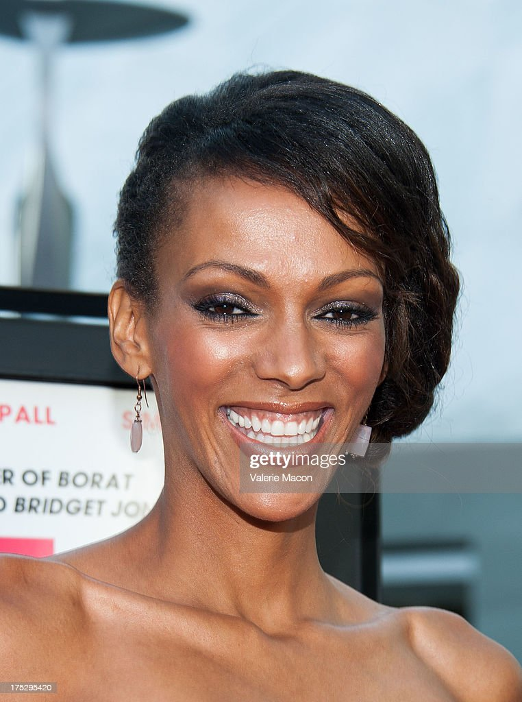 Jodi Shekoni arrives at the Screening Of Magnolia Pictures' 'I Give It A Year' at ArcLight Hollywood on August 1, 2013 in Hollywood, California.