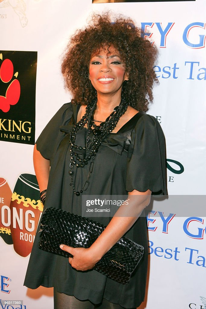 Jodi Watley arrives at the Jamie Foxx Post Grammy Event at The Conga Room at LA Live on January 31 2010 in Los Angeles California