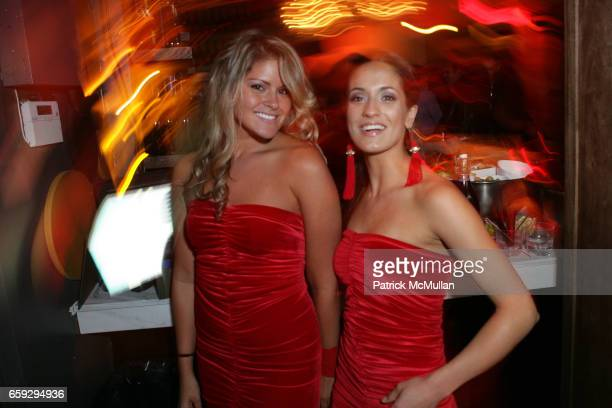 Jodi Yalango and Ande Segwick attend Grand Opening of La Pomme at 37 W 26th St on September 17 2009 in New York City