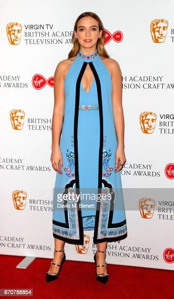 Jodie Comer attends the British Academy Television and Craft Awards nominations party at Mondrian London on April 20 2017 in London England