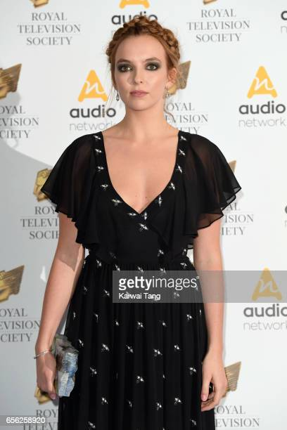 Jodie Comer attends the Royal Television Society Programme Awards at the Grosvenor House on March 21 2017 in London United Kingdom