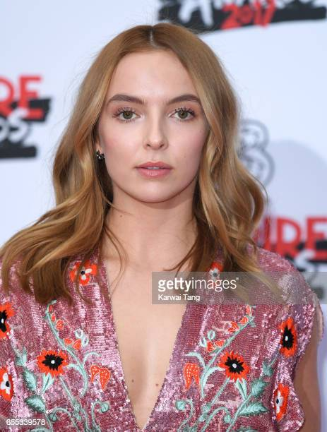 Jodie Comer attends the THREE Empire awards at The Roundhouse on March 19 2017 in London England