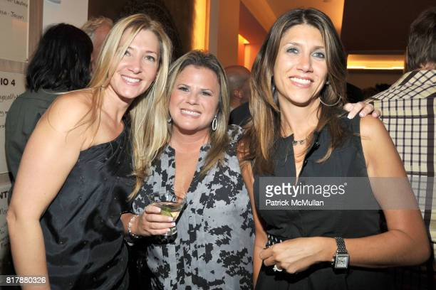 Jodie Davidovich Linda Frisher and Rachel Payne attend Launch and Celebration of Farmhearts at Pure Yoga on September 23 2010 in New York City