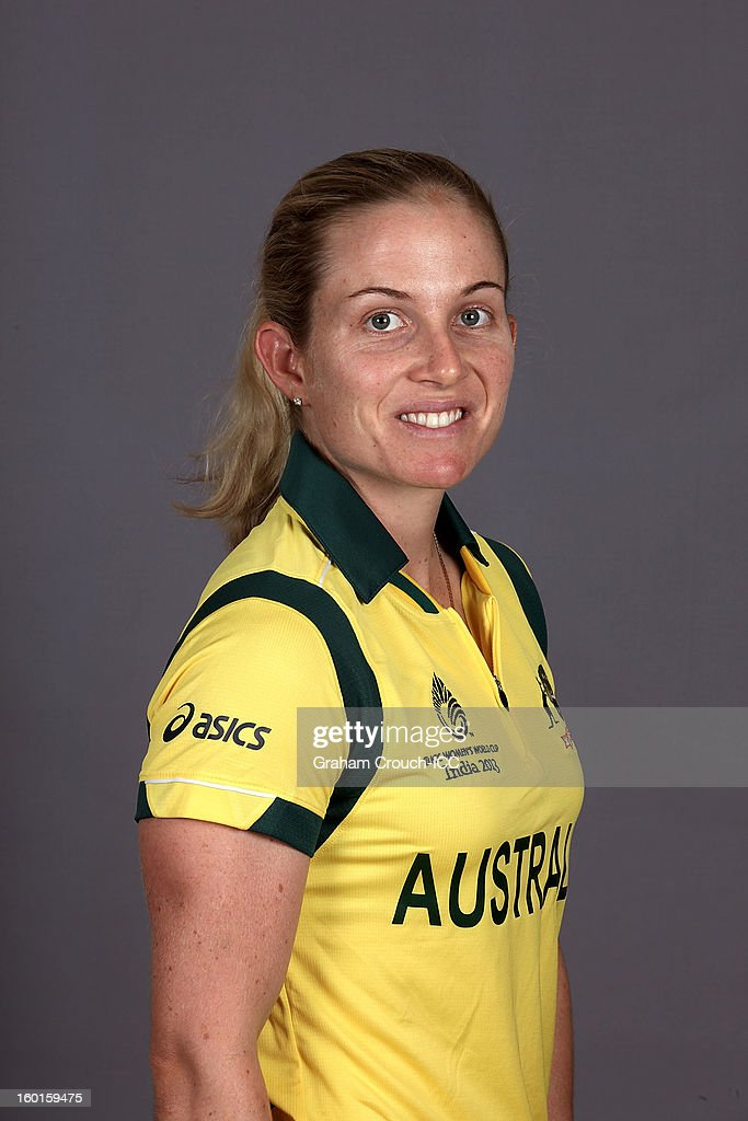 Australia Portrait Session - ICC Women's World Cup India 2013