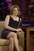 LENO Jodie Foster Air Date 3/31/08 Episode 3525 Pictured Actress Jodie Foster during an interview on March 31 2008 Photo by Paul Drinkwater/NBCU...
