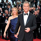 Jodie Foster and Mel Gibson at the premiere of 'The Beaver' during the 64th Cannes International Film Festival