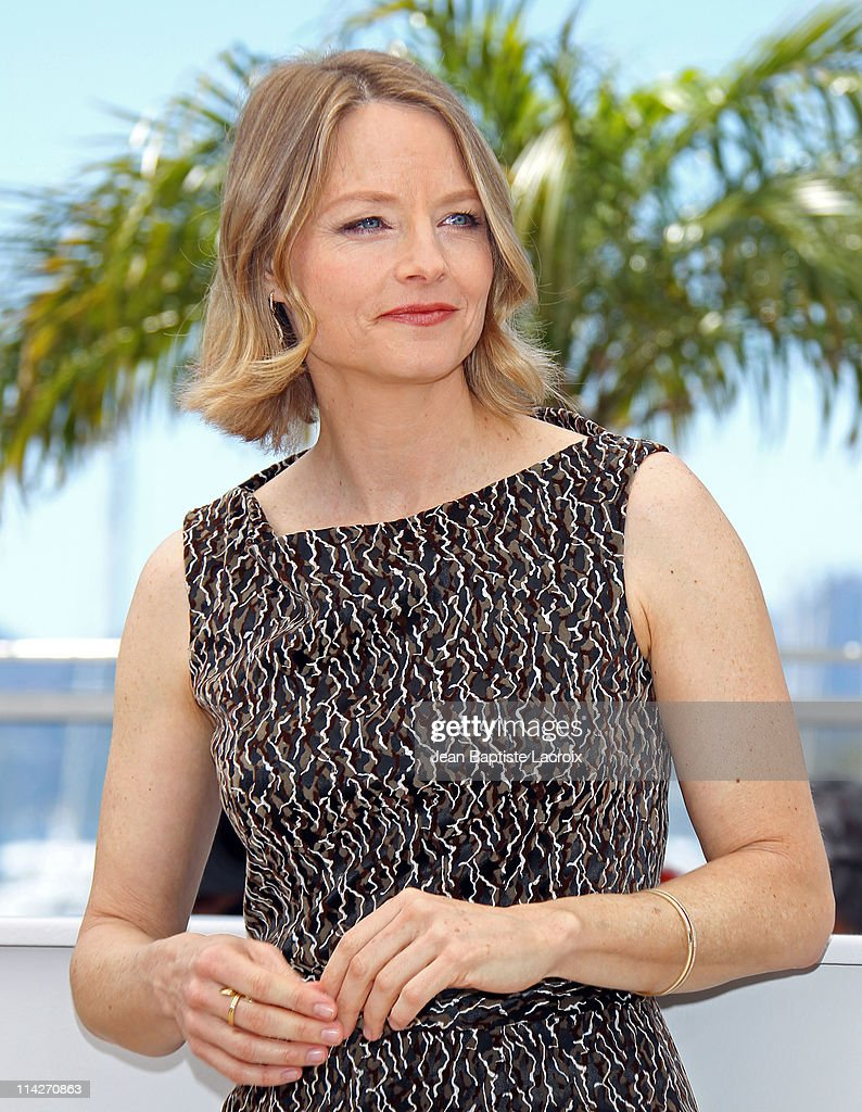 Jodie Foster attends a photocall for 'The Beaver' during the 64th Cannes Film Festival at Palais des Festivals on May 17 2011 in Cannes France