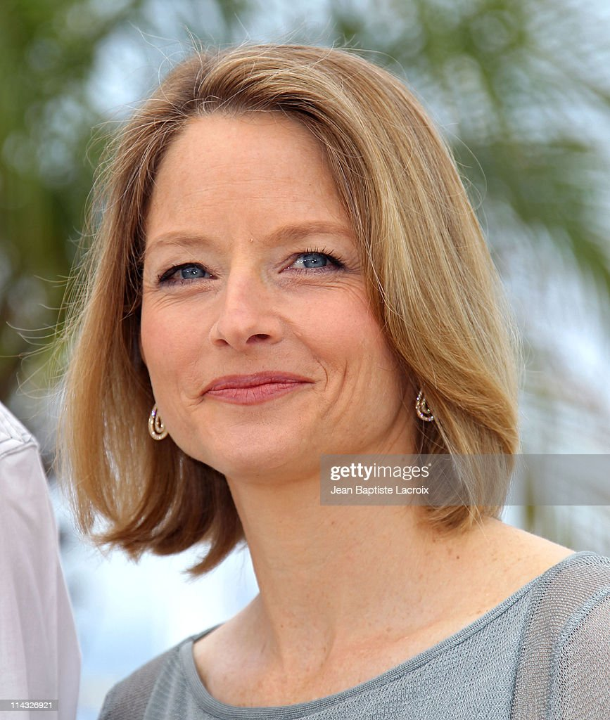 <a gi-track='captionPersonalityLinkClicked' href=/galleries/search?phrase=Jodie+Foster&family=editorial&specificpeople=204488 ng-click='$event.stopPropagation()'>Jodie Foster</a> attends 'The Beaver' Photocall during the 64th Cannes Film Festival at Palais des Festivals on May 18, 2011 in Cannes, France.