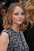 Jodie Foster attends the 'Money Monster' premiere during the 69th annual Cannes Film Festival at the Palais des Festivals on May 12 2016 in Cannes