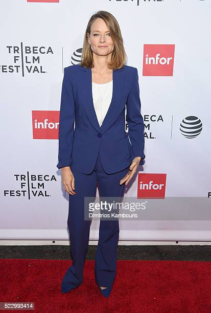 Jodie Foster attends the 'Taxi Driver' 40th Anniversary Celebration during the 2016 Tribeca Film Festival at The Beacon Theatre on April 21 2016 in...