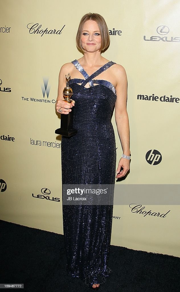 Jodie Foster attends The Weinstein Company's 2013 Golden Globes After Party at The Beverly Hilton Hotel on January 13, 2013 in Beverly Hills, California.