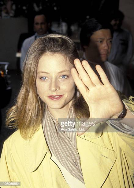 Jodie Foster during 1992 BAFTA LA Awards at Bel Age Hotel in West Hollywood California United States