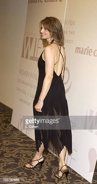 Jodie Foster during 2003 Women In Film Crystal Lucy Awards Show at Century Plaza Hotel in Los Angeles California United States