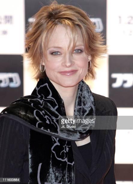 Jodie Foster during 'Flightplan' Tokyo Premiere Red Carpet at Roppongi Hills Arena in Tokyo Japan