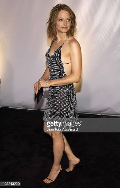 Jodie Foster during Giorgio Armani Receives First 'Rodeo Drive Walk Of Style' Award at Rodeo Drive in Beverly Hills California United States