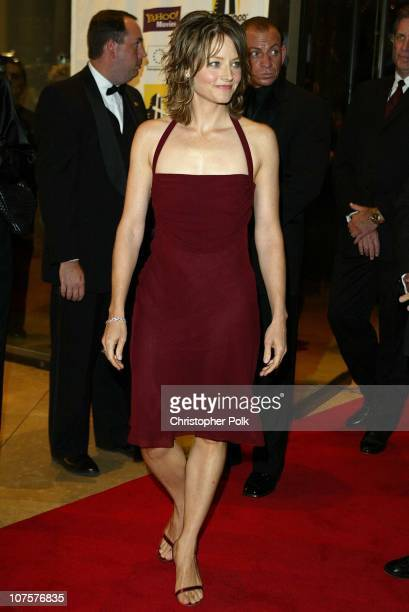 Jodie Foster during Hollywood Film Festival's Gala Ceremony at The Beverly Hilton Hotel in Beverly Hills