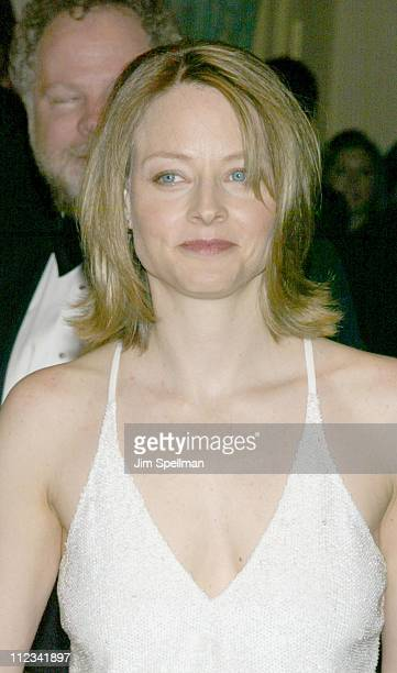 Jodie Foster during The 17th Annual American Museum of the Moving Image Salute to Mel Gibson at The Waldorf Astoria Hotel in New York City New York...