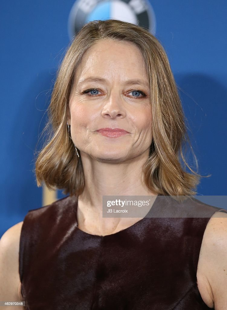 Jodie Foster poses in the press room at the 67th Annual Directors Guild Of America Awards at the Hyatt Regency Century Plaza on February 7, 2015 in Century City, California.
