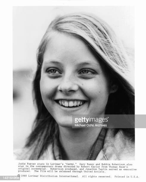 Jodie Foster smiling in a scene from the film 'Carny' 1980