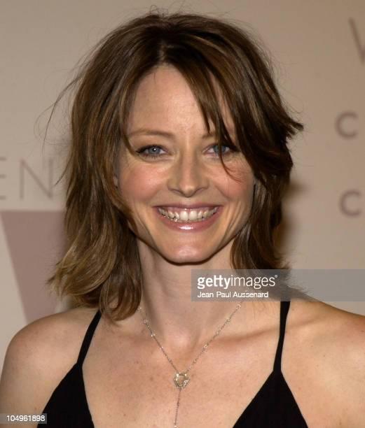 Jodie Foster wearing a Martin Katz diamond necklace