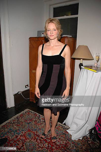 Jodie Foster wearing Giorgio Armani during Another Magazine Party Featuring Jodie Foster at National Arts Club in New York City New York United States