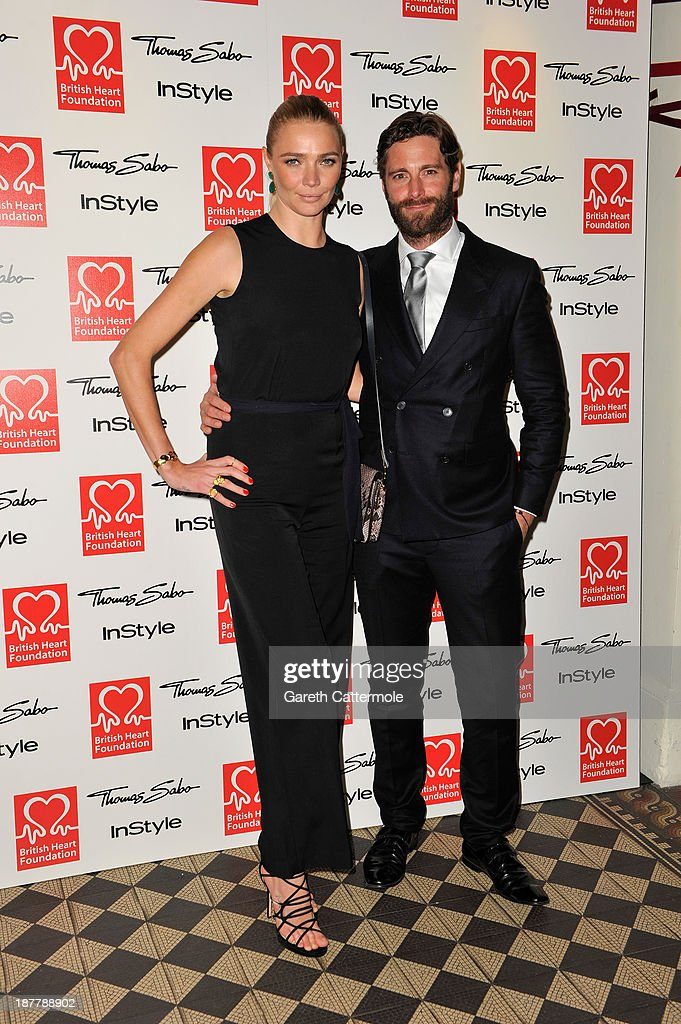 <a gi-track='captionPersonalityLinkClicked' href=/galleries/search?phrase=Jodie+Kidd&family=editorial&specificpeople=178960 ng-click='$event.stopPropagation()'>Jodie Kidd</a> (L) and David Blakeley attend the Tunnel of Love fundraiser in aid of the British Heart Foundation at One Mayfair on November 12, 2013 in London, England.