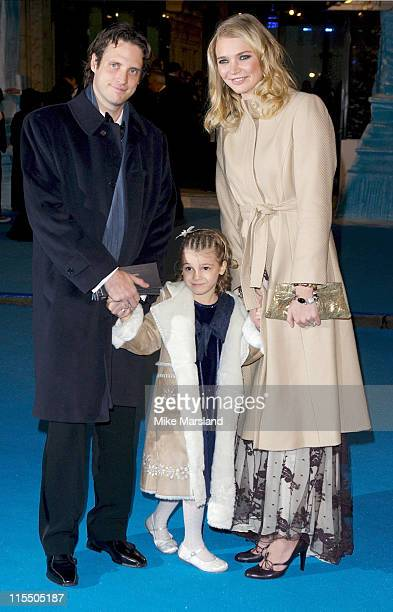 Jodie Kidd and guests during 'The Chronicles of Narnia The Lion The Witch and the Wardrobe' London Premiere Outside Arrivals at Royal Albert Hall in...